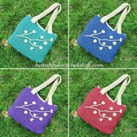 Crochet Bag by Jane Green from Beautiful Crochet Stuff
