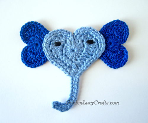 Elephant Applique by GoldenLucyCrafts