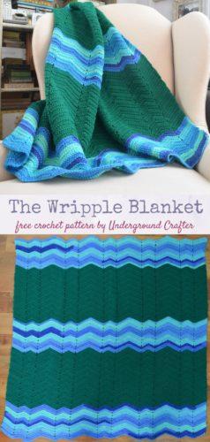The Wripple Blanket by Marie Segares/Underground Crafter