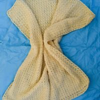 Little Gracie Baby Blanket by Marie Segares/Underground Crafter