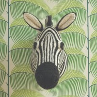 Zebra Trophy Head by Vanessa Mooncie on Underground Crafter