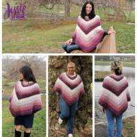 Neapolitan Scratch N Sniff Poncho by Jessie Rayot from Jessie At Home