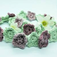 Festival Flower Headband by Cat at Crochet Cloudberry
