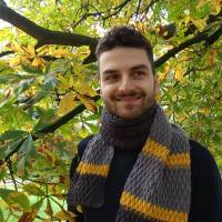 Alpine Scarf for Men by Crochet Cloudberry