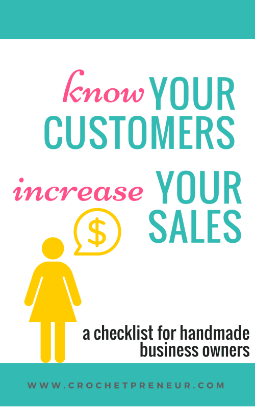 KNOW CUSTOMERS | INCREASE SALES Increase sales by creating a buyer persona. Get to know customers and their needs so clearly that your branding, marketing and products become irresistible!