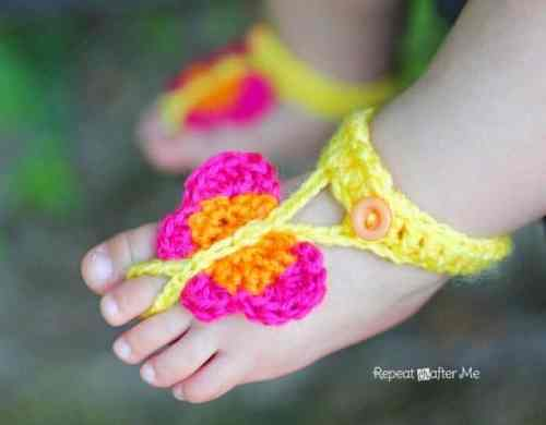 Butterfly Baby Sandals