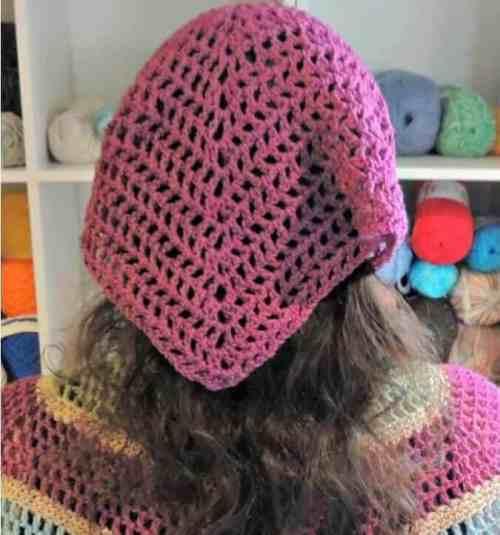 Spring Kerchief Crochet Pattern