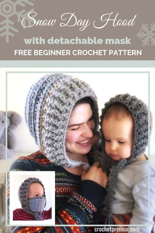 Mommy And Me Winter Hat Crochet Pattern 30 Days Of Cozy