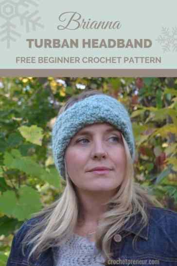 89e1a6934db Brianna Turban Headband Crochet Pattern  30 Days of Cozy