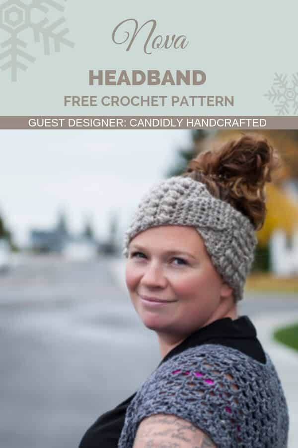 What a great choice if you don't want a messy bun hat. The Nova Headband has a trendy twist, a pop of texture, and a whole lot of awesome. The free pattern is yours! #freecrochetpattern #turbanheadband #twistheadband #twiestedheadbandcrochetpattern #crochetpattern