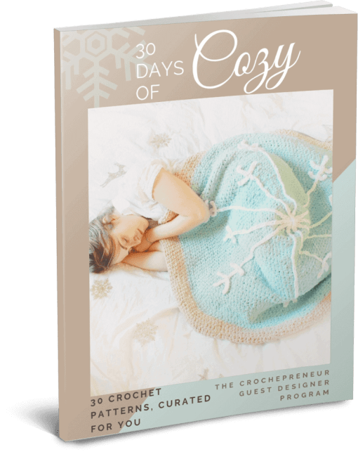 30 Days of Cozy Pattern Bundle - get 40 patterns for just $10