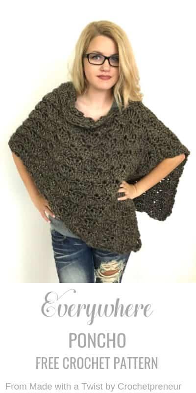 Everywhere Poncho (2) - Crochetpreneur