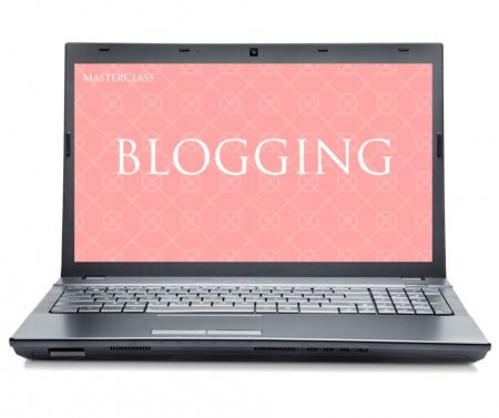blogging desktop mockup