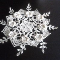Irish Rose Doily