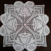 Christmas Bells Filet Crochet