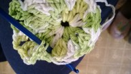 third round.. between puff stitch