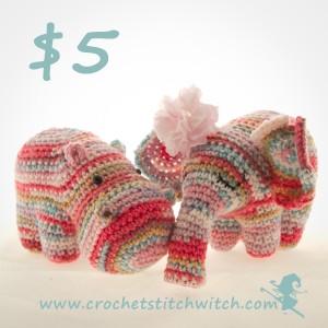 Hippo crochet pattern
