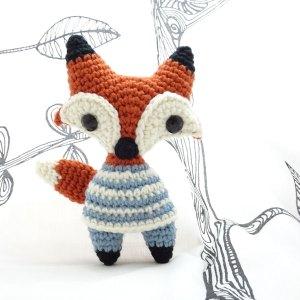 Cute amigurumi fox crochet