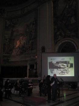 Lunedì 10 Febbraio 2014, solenne concerto in onore delle vittime delle foibe, presso la Basilica di S. Andrea della Valle in Roma. Intervento del vicepresidente del consiglio regionale, Francesco Storace