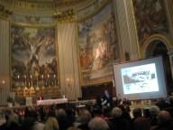 Lunedì 10 Febbraio 2014, solenne concerto in onore delle vittime delle foibe, presso la Basilica di S. Andrea della Valle in Roma. Intervento dell'On. Roberto Menia
