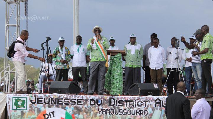 [Côte d'Ivoire Meeting] L'opposition dit ''non'' au projet de loi portant modification de la constitution