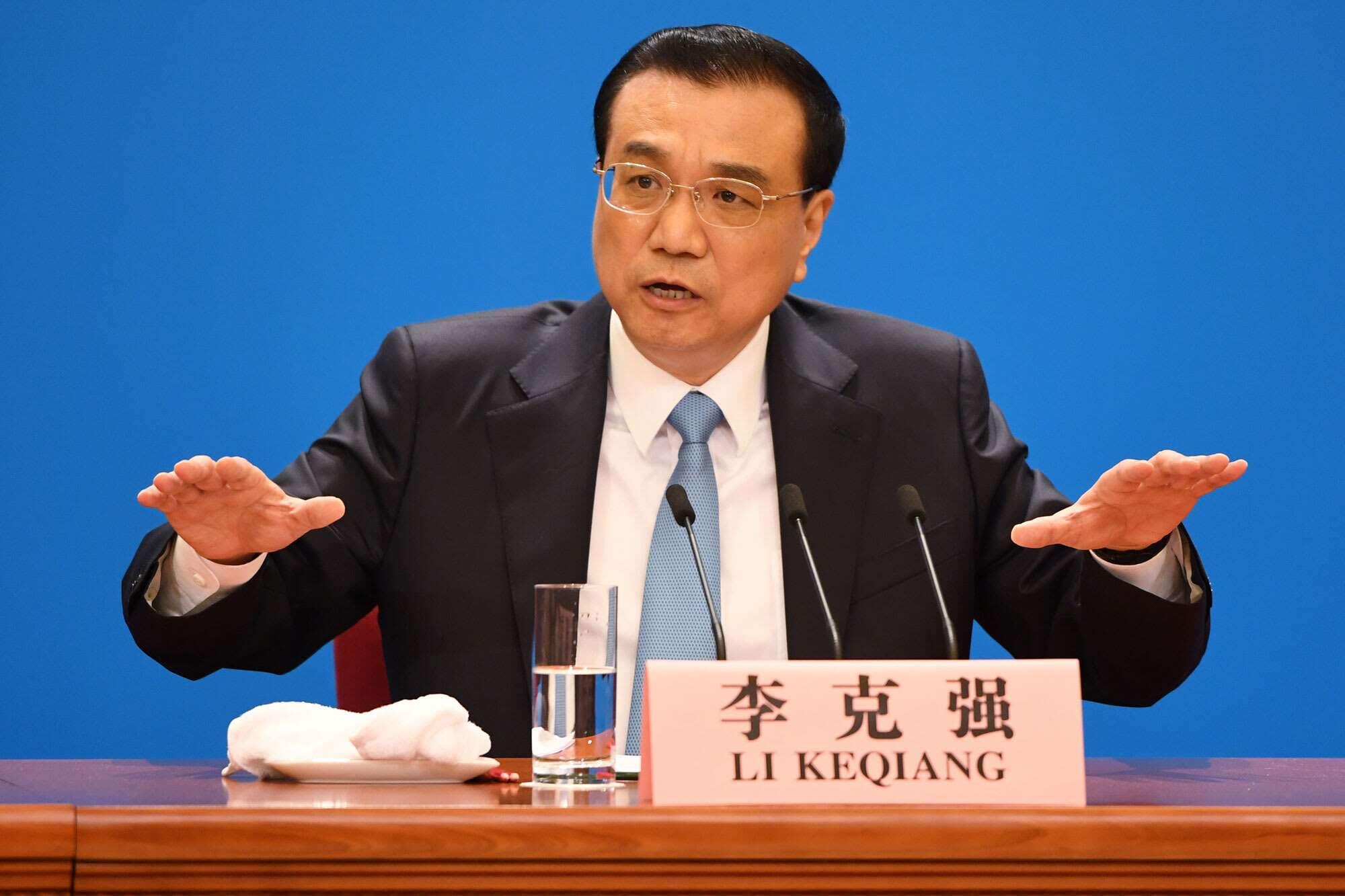 Li Keqiang (Premier ministre chinois) : ''L'argent investi au profit de la population pourra générer de nouvelles richesses'' (conférence de presse)