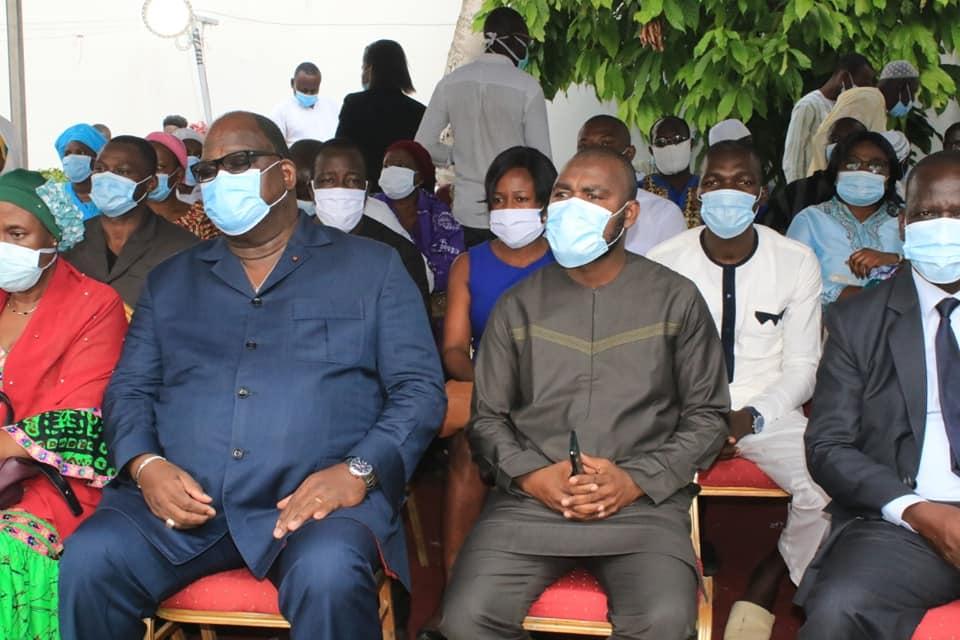 [Côte d'Ivoire/Deuil] Les militants Rhdp issus de l'Udpci présentent leurs condoléances à la Famille Gon Coulibaly
