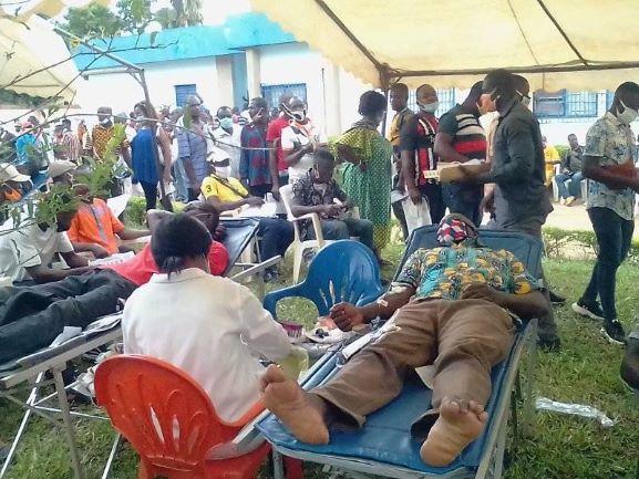 (Côte d'Ivoire Don de sang) Opération Vision 2020 AGC fait fort à Yamoussoukro