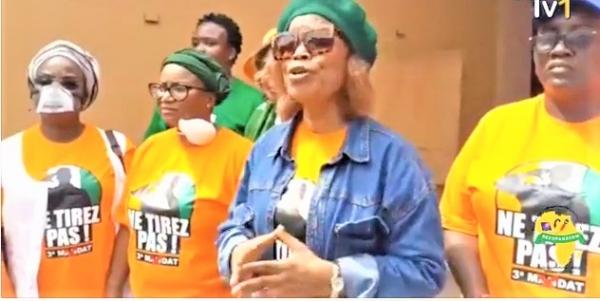 (Côte d'Ivoire Manifestations contre la candidature d'ADO) La vingtaine de femmes interpellées a été libérée