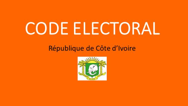 [Côte d'Ivoire/Affaire Gbagbo] Forte polémique autour du code électoral