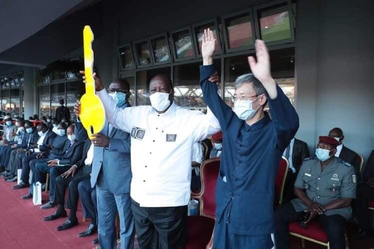 Découverte et réception du nouveau temple du Sport ivoirien à Ebimpé et meeting politique (Par Fernand Dedêh)