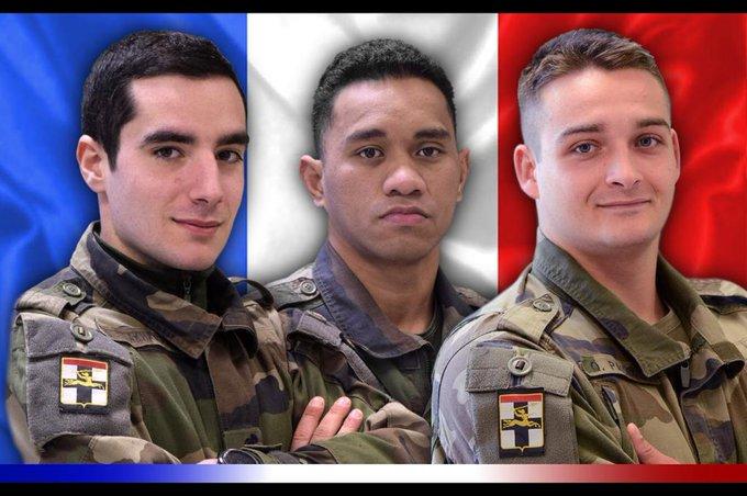 [Mali] Voici l'identité des trois militaires français tués