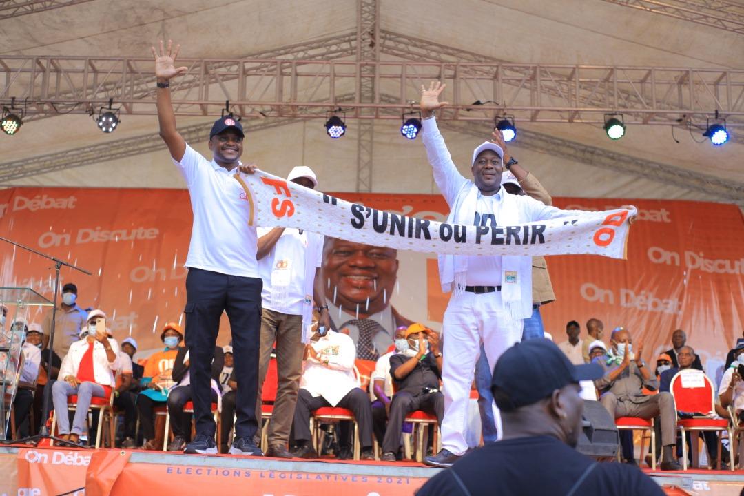 [Côte d'Ivoire Législatives 2021] Fabrice Sawegnon et OD, le duo marque son territoire pour la victoire du Rhdp au Plateau
