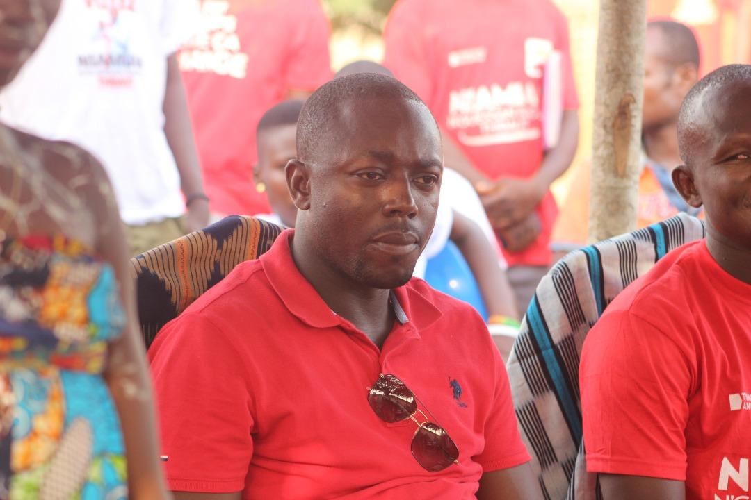 [Tiémélékro-Anoumaba] Le candidat indépendant  Niamian N'Guessan Raoul Thibaut à la rencontre de la population de Sanguimonga, le 02-03-2021 (Images)