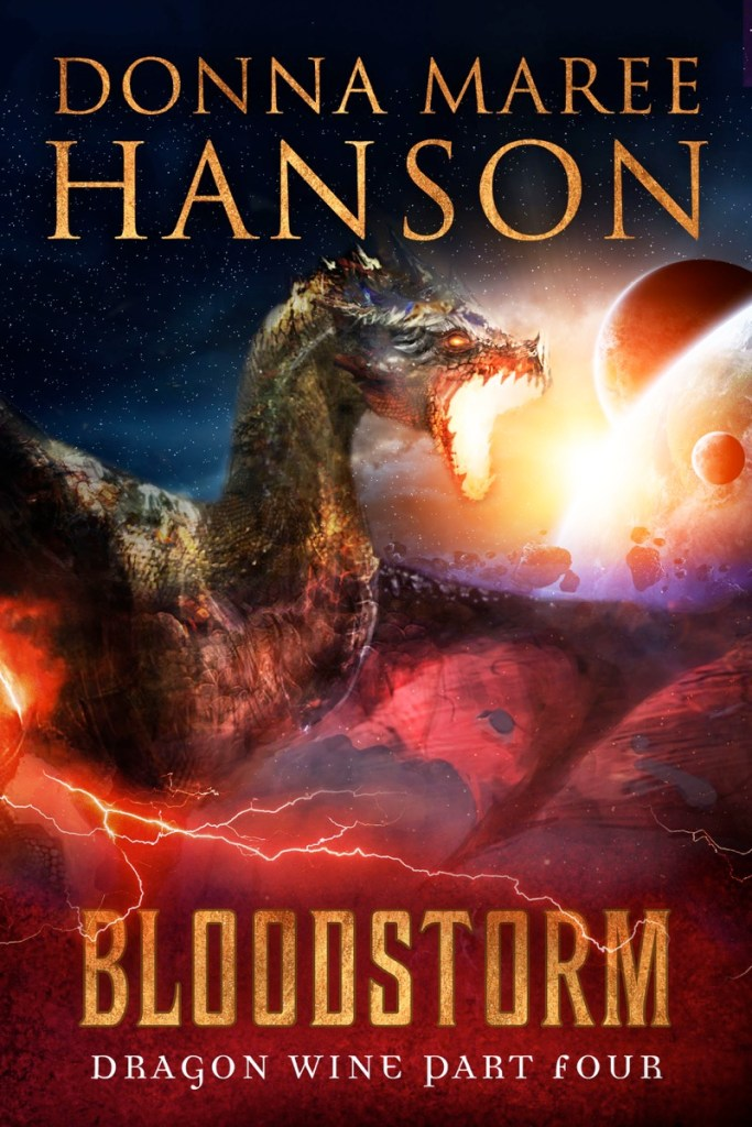Blood Storm by Donna Maree Hanson