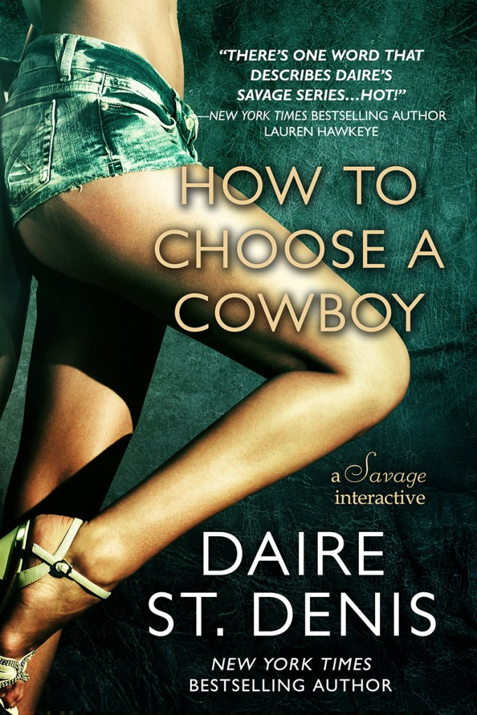 How To Choose A Cowboy by Daire St. Denis