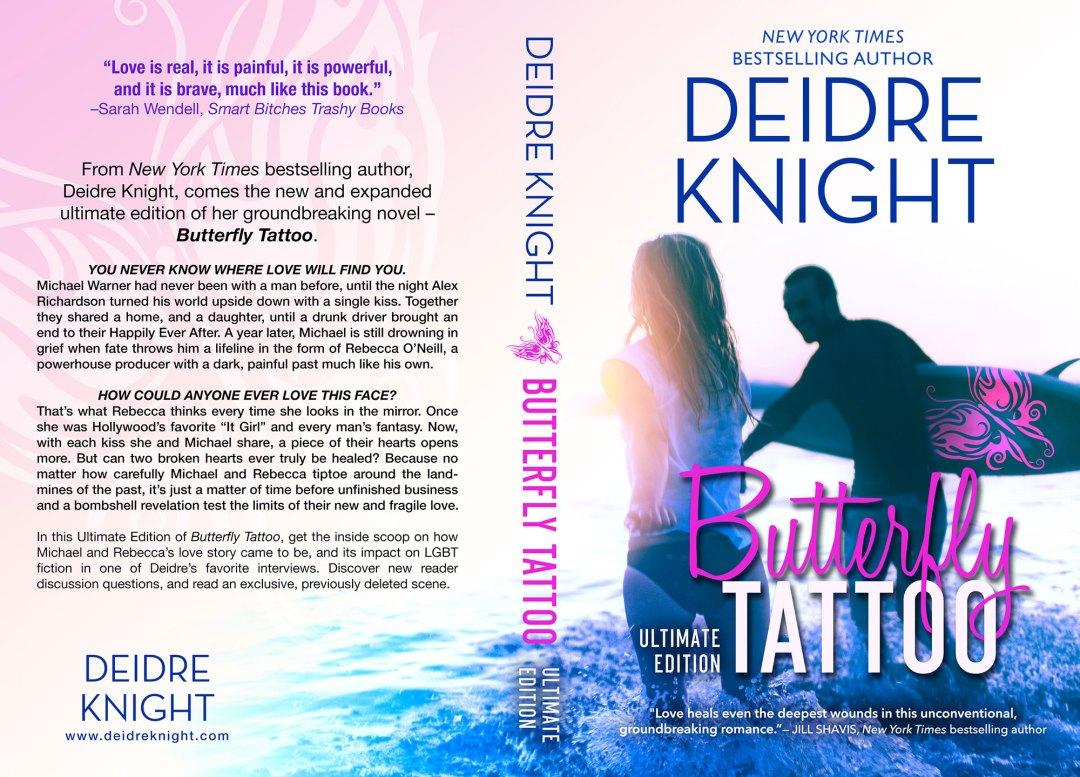 Butterfly Tattoo by Deidre Knight (Print Coverflat)