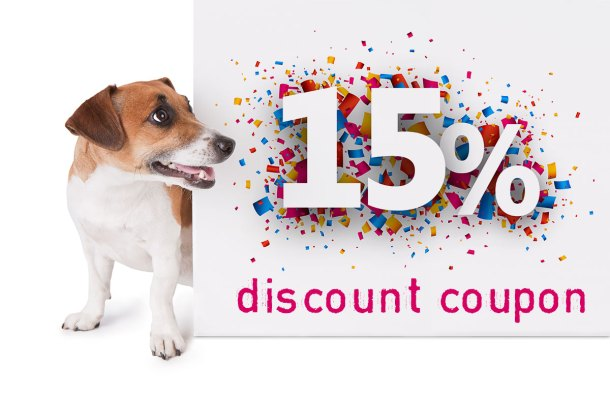 15% Discount Coupon