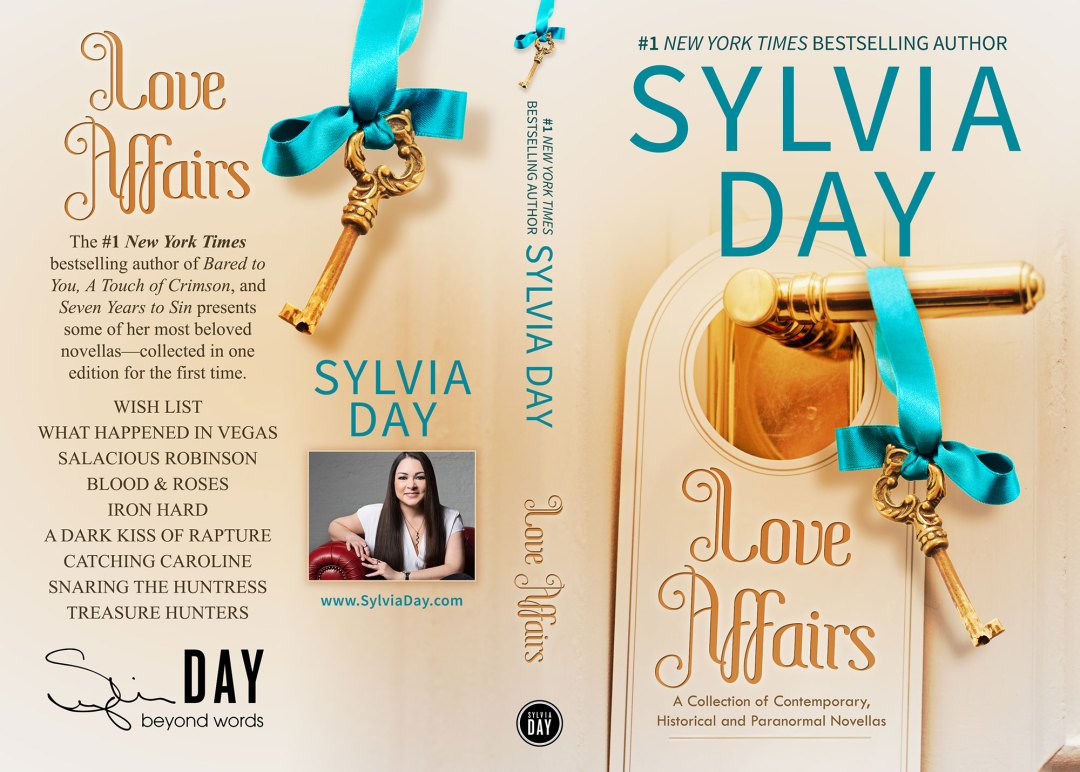 Love Affairs by Sylvia Day (Print Coverflat)