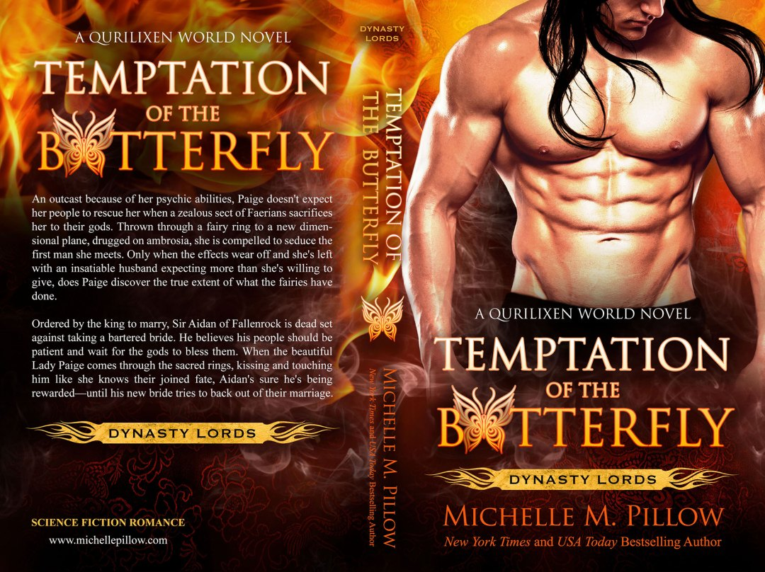 Temptation of the Butterfly by Michelle M. Pillow (Print Coverflat)