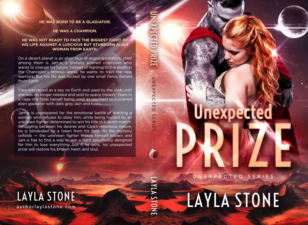 Unexpected Prize by Layla Stone (Print Coverflat)