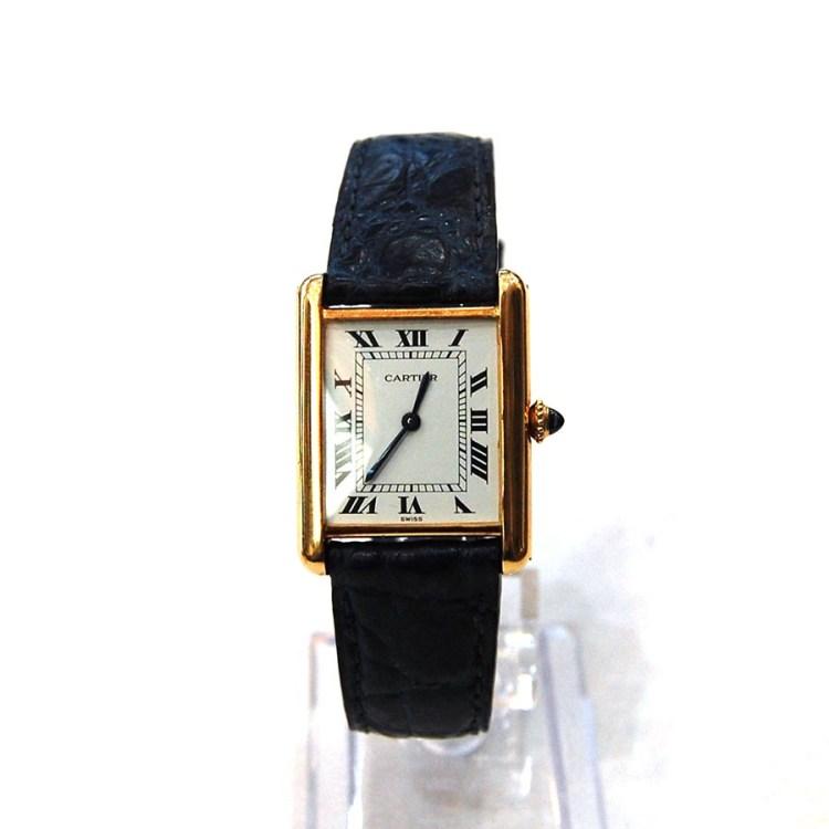 カルティエCARTIER(カルティエ)時計ベルトオーダーメイド