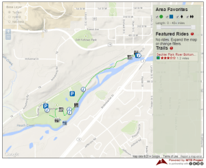 Sechler Park MTB Project map