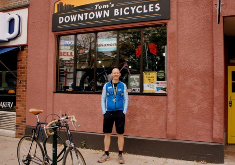 Tom Bisel, Tom's Downtown Bicycles