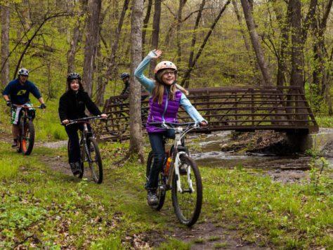 CROCT trail segment at Caron Park 4