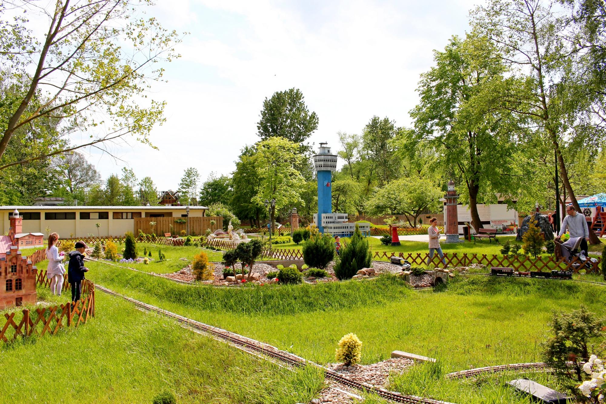 Park miniatur i kolejek dziwnów