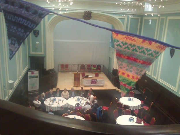 Crofting Federation Gathering (Fair Isle Bunting)
