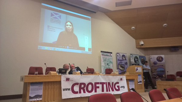 Aileen McLeod at Future of Crofting Conference