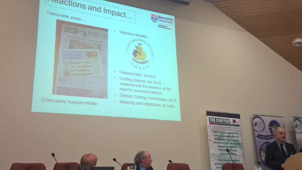Mark Shucksmith - Bin the Crofting Report Campaign