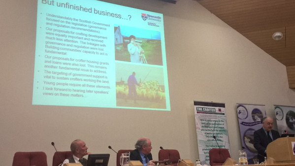 Mark Shucksmith - Unfinished Crofting Business